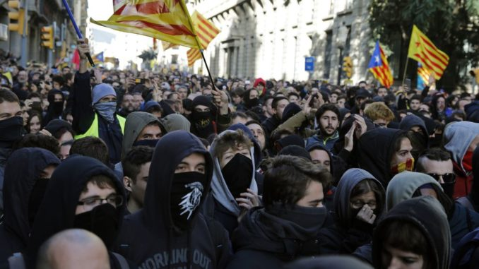 Thousands of citizens in Spain rise up against globalist government