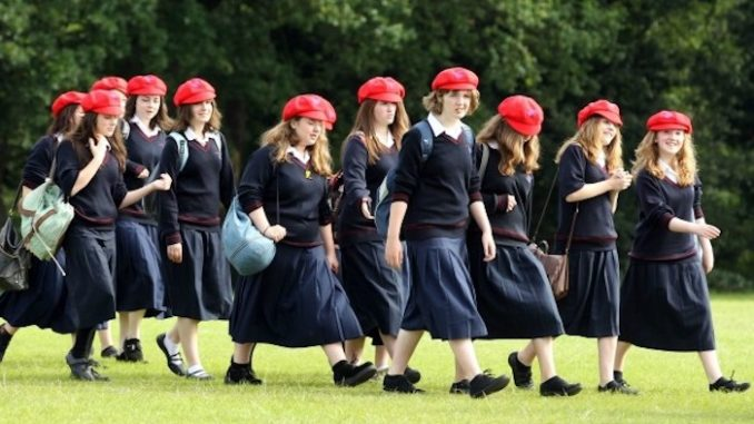 Top British schools bans use of the word 'girl' to avoid causing offence to transgender students