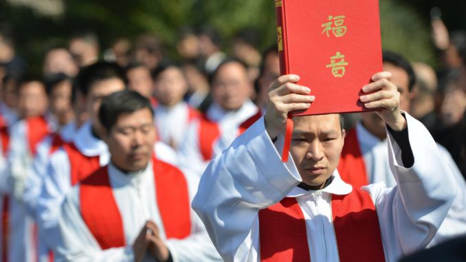 China set to become world's most Christian nation