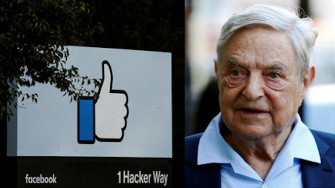Facebook hires Soros organization to 'fact-check' users' newsfeeds
