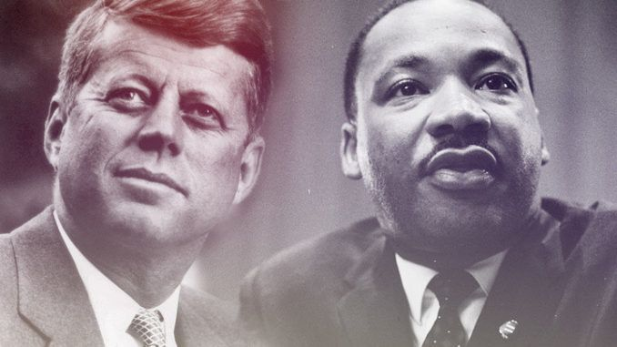 Families and celebrities of JFK and MLK demand new probe into government assassination cover-up