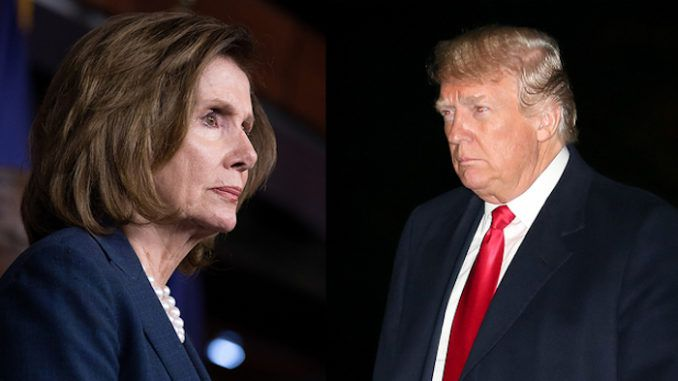 Nancy Pelosi says she is Trump's equal under the constitution
