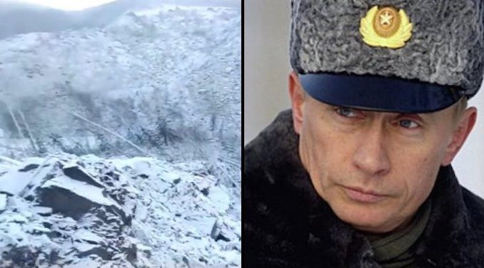 Putin Deploys Militarily to Investigate UFO Crash in Siberia Putin-military-Siberia-UFO-678x376