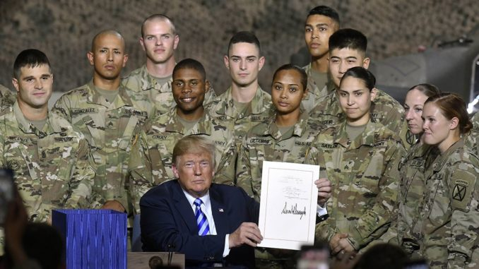 Trump vows to take America out of never ending wars