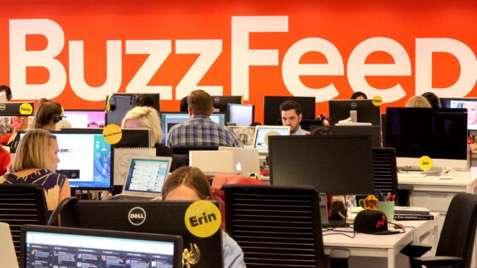 BuzzFeed prepares to fire 15 percent of its workforce following fake news blunder