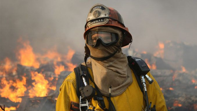 California firemen find evidence that directed energy weapons were used to start wildfires