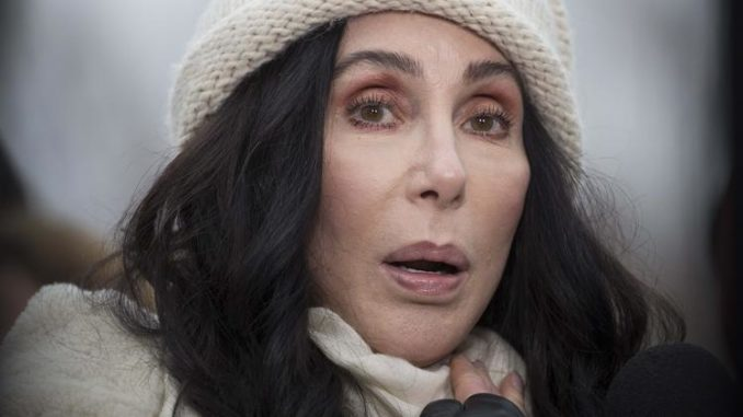Cher warns non-whites are not safe in Trump's America
