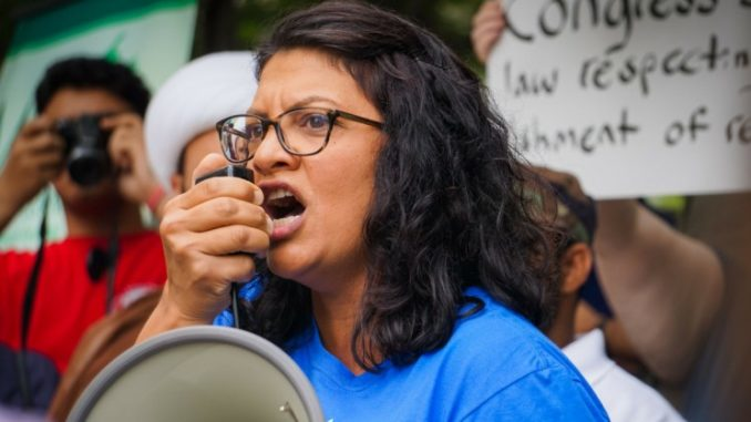 Congresswoman Rashida Tlaib is funded by George Soros