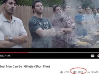"Gillette's recent virtue signaling commercial against ""toxic masculinity"" has become one of the most disliked videos on YouTube of all time."