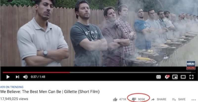 Gillette 'Toxic Masculinity' Ad Becomes One of the Most