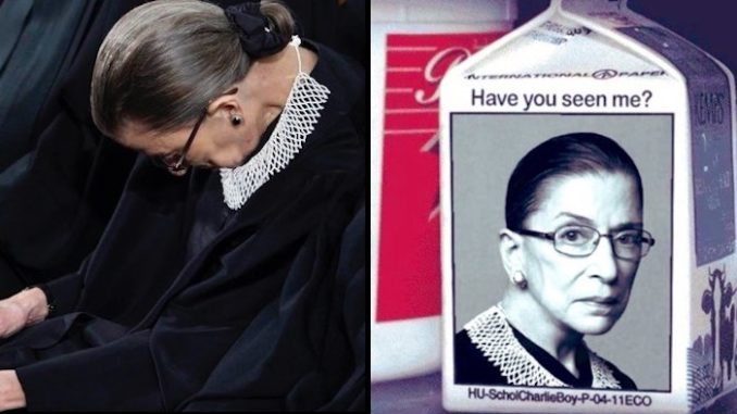 Petition to impeach Ruth Bader Ginsburg goes viral