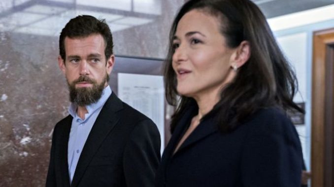 Twitter CEO Jack Dorsey admits Big Tech platforms collude to silence undesirable users
