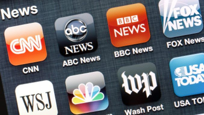 Nearly all mainstream media leans left, study finds