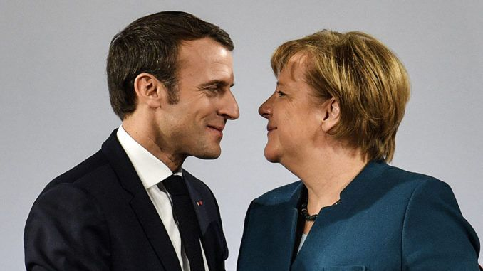 Merkel and Macron announce European Union takeover amid global Yellow Vest protests