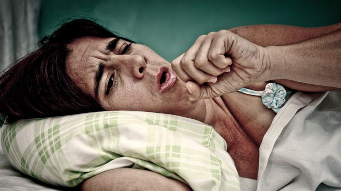 Mysterious coughing virus sweeps across U.S. making people stay in bed for a month