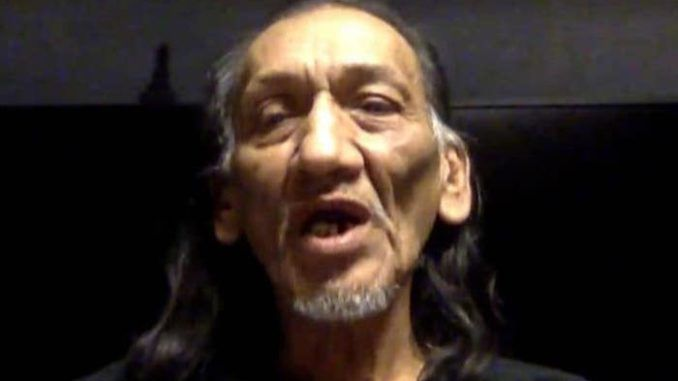 Native American Nathan Phillips has a violent criminal record