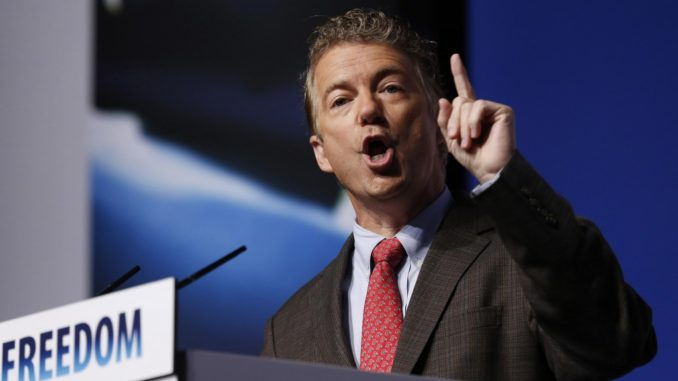 Rand Paul says New World Order are terrified of Donald Trump