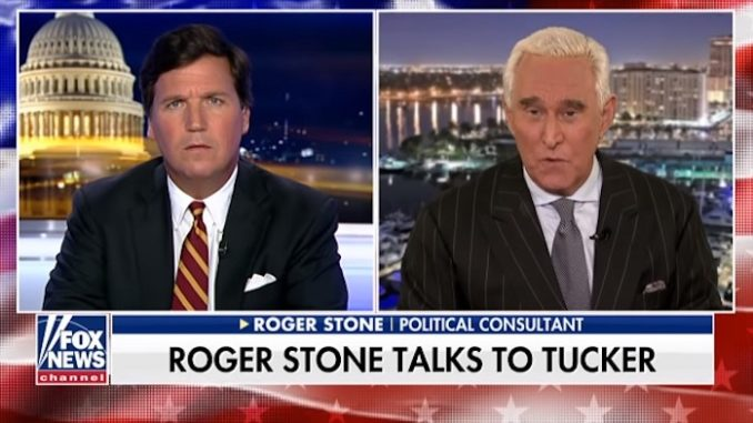 Roger Stone warns there is a war on alternative media