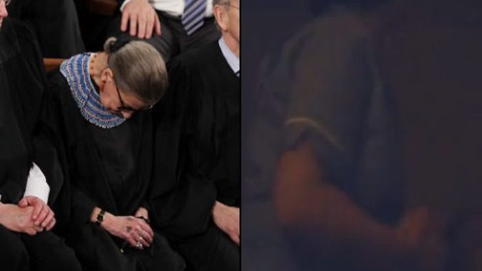 Ruth Bader Ginsburg is in a medically induced coma, aide says
