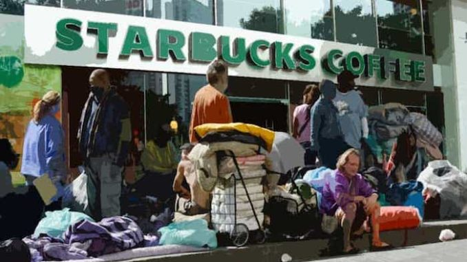 California Starbucks closes after social justice policies backfire
