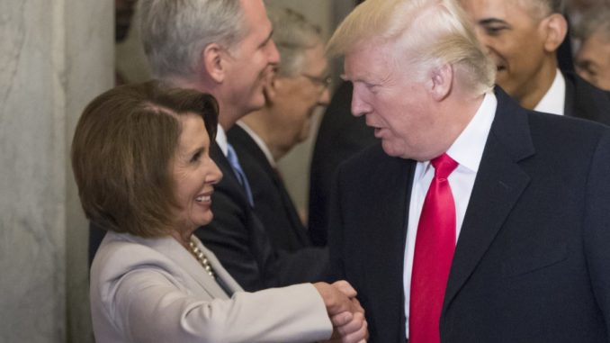 Nancy Pelosi claims Donald Trump is trying to murder her