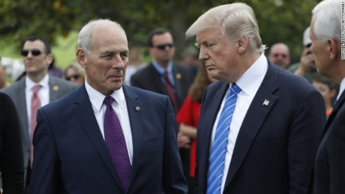 Former White House chief of staff John Kelly ousted as deep state traitor
