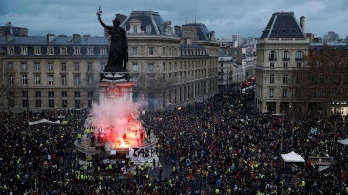 Anti-globalist protests spread worldwide