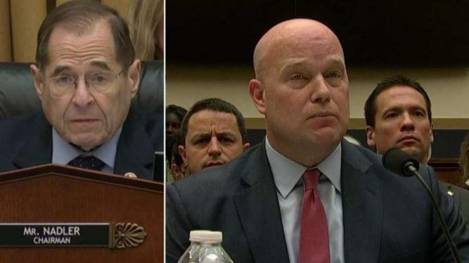 AG Whitaker testimony shows Trump is about to drop the hammer