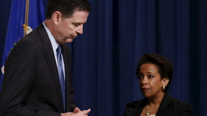 The DOJ blocked the FBI from pursuing criminal charges against Hillary Clinton