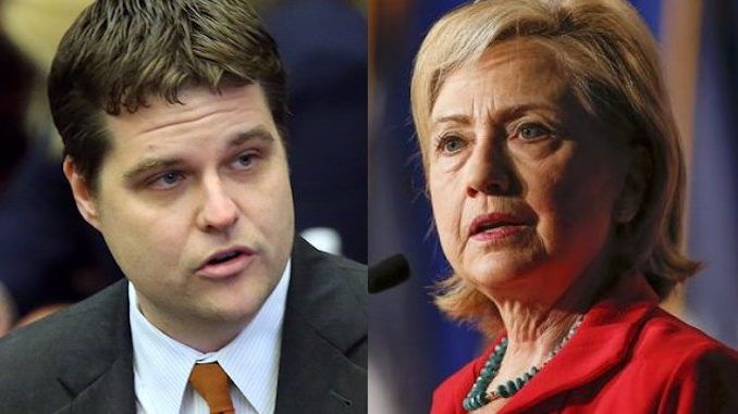 GOP Rep introduces bill targeting Clinton for lying to Congress