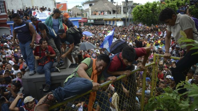 25 MS-13 gang members apprehended in migrant caravan