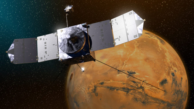 NASA Satellite Mysteriously Goes Dark After Flying past Mars NASA-sattelite-mars-678x381