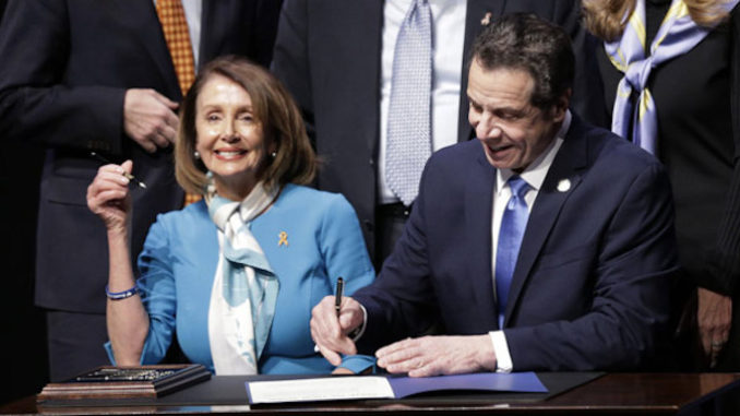 Pelosi and Cuomo sign gun confiscation bill into law