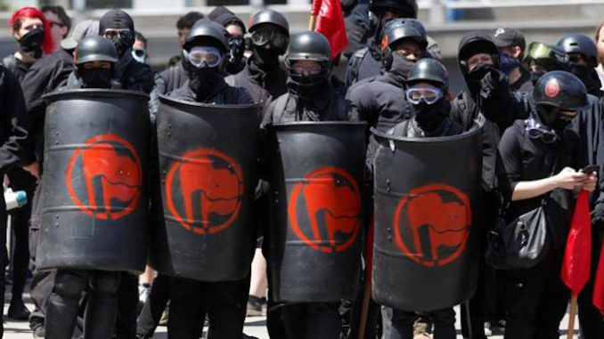 Portland block FBI from surveilling far-left terrorist organization Antifa