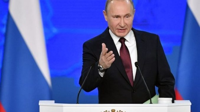 Putin warns Trump the Deep State are seeking to destroy him