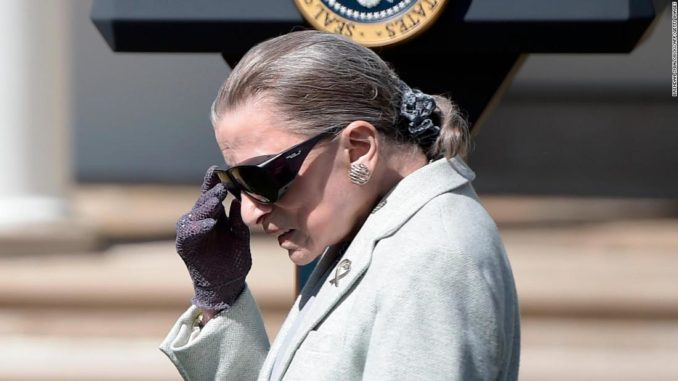 Ruth Bader Ginsburg still missing, pics of her public appearance unavailable as reporter who claimed he was hugged deletes tweet
