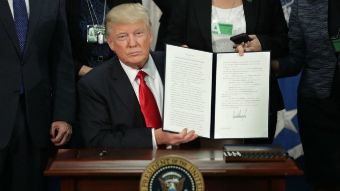 Trump to sign Executive Order to avoid shutdown and allocate more funds for border wall