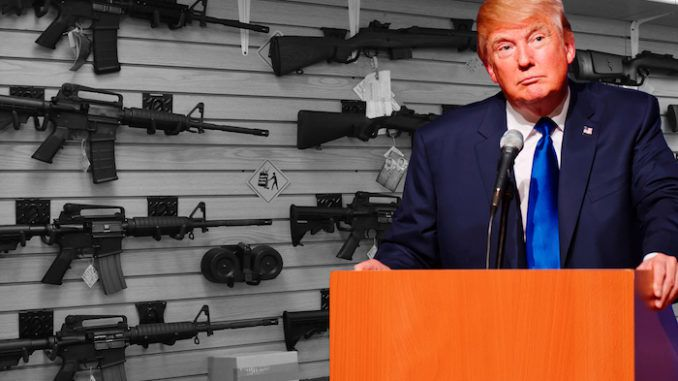 Trump vows to legalize the concealed carry of guns nationwide