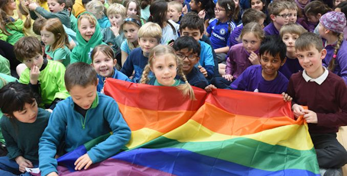 The UK is set to roll out controversial new legislation making it compulsory for chidlren to attend pro-transgender sex education classes.