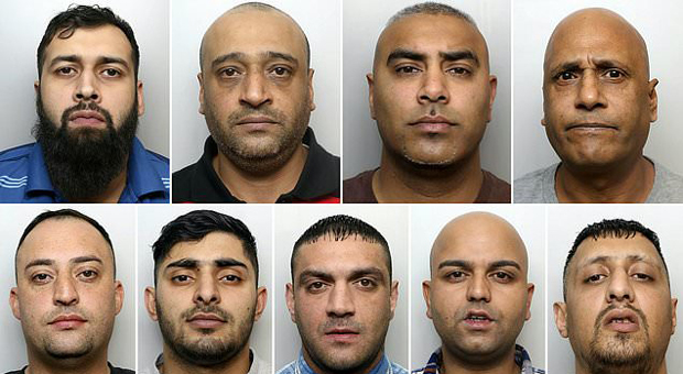 Child grooming gang jailed for 130 years