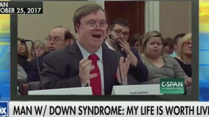 Down Syndrome man warns Democrats would have him aborted under their current pro-choice policy