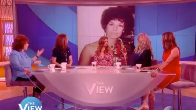 Joy Behar boasts about wearing blackface on The View