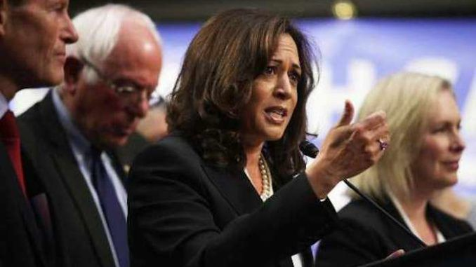 Kamala Harris says there are trillions of dollars available for Green New Deal
