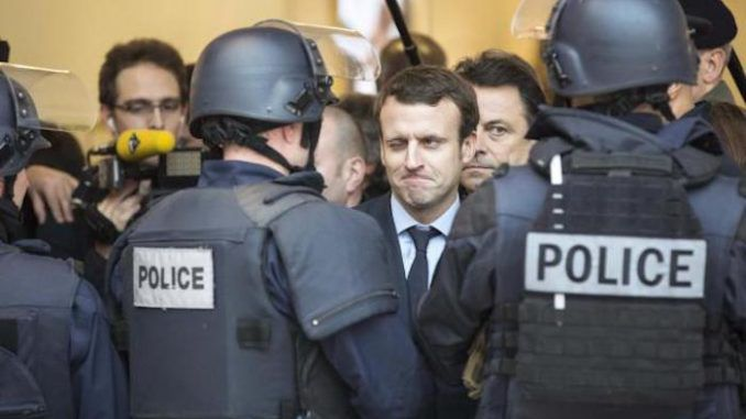 Emmanuel Macron vows to criminalize criticism of Israel as hate speech