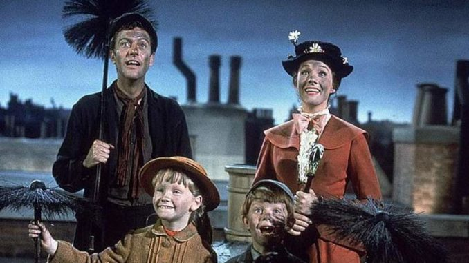 Liberal professor accuses Mary Poppins film of racism
