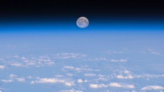 Moon exists within Earth's atmosphere, scientists say