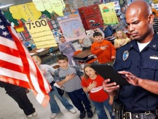 11 year old schoolboy arrested and jailed for refusing to recite the pledge of allegiance