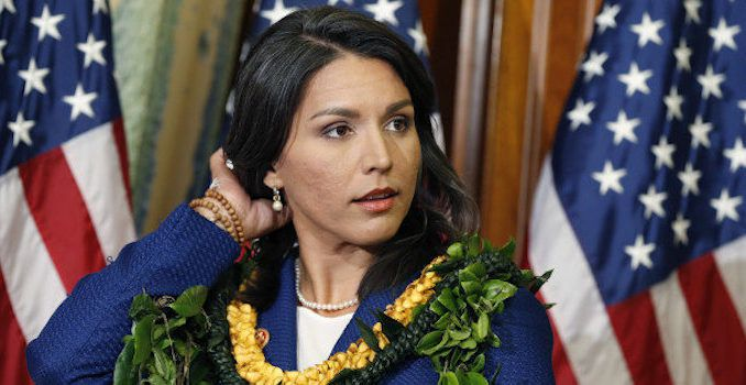Tulsi Gabbard says she wants to legalize marijuana nationwide