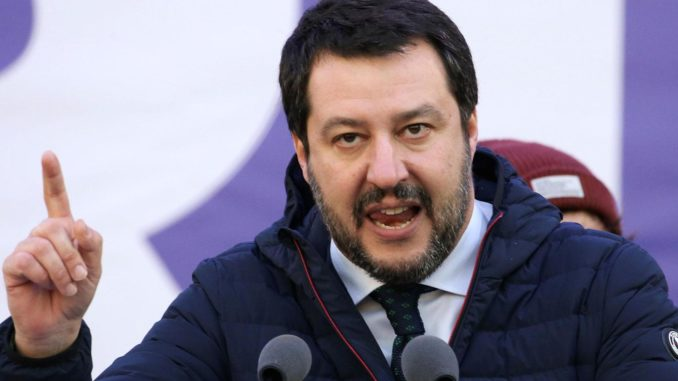 Italian leader vows to save Europe from globalism