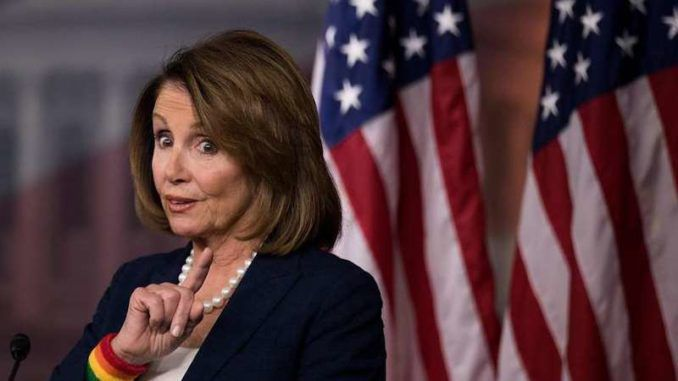 Nancy Pelosi co-sponsored legislation to force President Trump to release his tax returns,but the Democratic House speaker refuses to release her own and continues to dodge questions about her enormous and unexplained wealth.